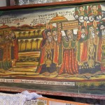 The Holy Ark is brought from Jerusalem to Ethiopia