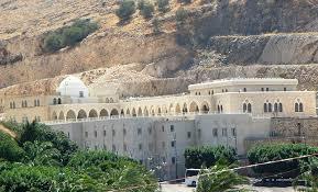 Yitro's burial place  in Druze tradition In Nabi Shu'ayb in the