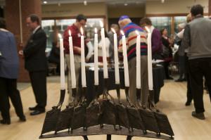 Eighth Night of Hanukkah at TBK photo by Eli Landesberg