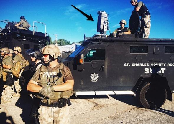 2014 Ferguson Response to Grief Vigil