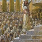King Solomon Dedicates the Temple of Jerusalem