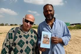 Amos Gvirtz & his friend Aziz of El Araqib village