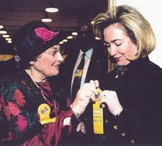 Bella Abzug for Hillary